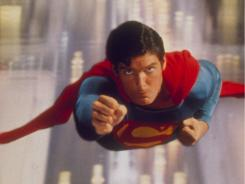 Signature role: Christopher Reeve played the Man of Steel in 1978's Superman: The Movie.