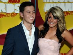 American Idol winner Scotty McCreery and runner-up Lauren Alaina  will make their Grand Ole Opry debut  Friday night.