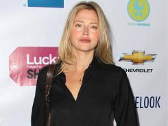 Actress Estella Warren attends a 'Lucky' magazine event in April.