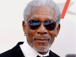 Morgan Freeman arrives at the taping of 'TV Land Presents: AFI Life Achievement Award Honoring Morgan Freeman' in Culver City, Calif., Thursday, June , 2011.