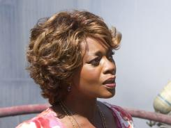 Alfre Woodard says she isn't a fan of crime shows, but now she finds herself on the case with Jason Lee in Memphis Beat.