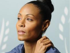 "the set of her TNT series 'Hawthorne,' Jada Pinkett Smith shares that she's ""always calling audibles somewhere."" She also serves as the command center for her famous family."
