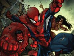 Everybody's favorite web-slinger teams up with various fellow Avengers in the new series Avenging Spiderman debuting in November.