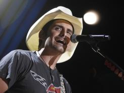 Brad Paisley collaborated with British star Robbie Williams on the song for the end credits of 'Cars 2.'
