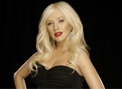 Christina Aguilera is a judge on the singing competition, 'The Voice.'