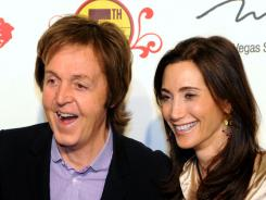 Paul McCartney has a new love, too: He announced his engagement to Nancy Shevell last month.