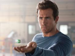 Ryan Reynolds stars as Hal Jordan in 'Green Lantern.'