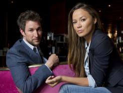 Noah Wyle and Moon Bloodgood play a professor and a pediatrician thrust into extraordinary circumstances after an alien invasion.