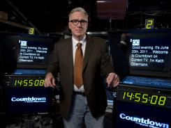 Keith Olbermann left MSNBC in January. On Monday night he moves his show to tiny Current TV, co-founded by Al Gore and Joel Hyatt.