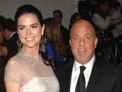 "He's not a stranger:  Katie Lee and Billy Joel divorced in 2009, but remain on good terms. ""I love him very much and always will. We're in the small percentage of marriages that ended happily,"" Lee says."