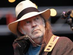 Neil Young is out with a  new live album titled  &quot;A Treasure.&quot;