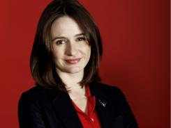 Emily Mortimer voices Holley Shiftwell in 'Cars 2,' but she's urged not to drive in real life in New York.