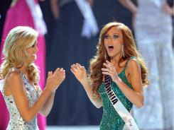 Miss California, Alyssa Campanella, won the Miss USA pageant on Sunday.