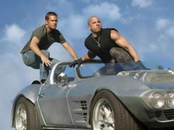 Gave revenue a jump: Paul Walker and Vin Diesel's 'Fast Five' earned $207 million early in the season.