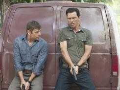 Max (Grant Show) and Michael (Jeffrey Donovan) are hot on the trail of whoever issued Michael's termination notice at  the spy agency.