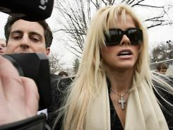 The Supreme Court on Thursday ruled against Anna Nicole Smith, seen arriving at court in 2006.