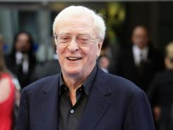 """Not some old duffer"": Michael Caine likes his iPad, Skype, email and more."