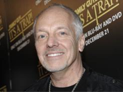 Peter Frampton filed for divorce Tuesday from his wife of 15 years.