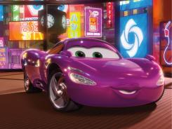 Zoom zoom: Holley Shiftwell (voiced by Emily Mortimer) is one of the four-wheeled stars of Cars 2, which pulled in $66 million in its first week.