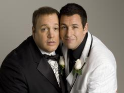 Kevin James and Adam Sandler are in talks to reteam for 'Valet Guys. '