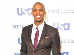 Mehcad Brooks stars in Necessary Roughness, which airs Wednesday night on USA.