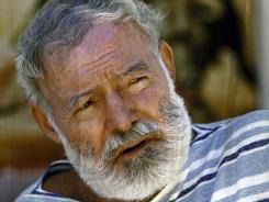 This photo of Ernest Hemingway was taken in Malaga, Spain, where he wrote The Dangerous Summer, a non-fiction account of the brutal 1959 bullfighting season and a rivalry between two bullfighters.