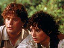 Sean Astin and Elijah Wood are on a quest to destroy The One Ring in The Lord of the Rings trilogy.