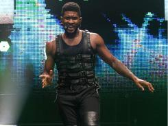 Usher performs at the 2011 Essence Music Festival in New Orleans.