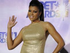 Taraji P. Henson, seen here at the BET Awards Sunday, stars in 'Larry Crowne' with Tom Hanks.