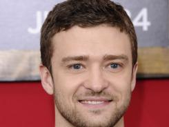 Justin Timberlake currently stars in the film, 'Bad Teacher' opposite ex-girlfriend Cameron Diaz.
