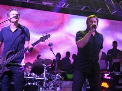 Duran Duran: John Taylor, Roger Taylor, Simon Le Bon and Nick Rhodes perform in Cannes, France.