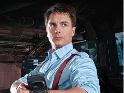 Not your ordinary hero:  John Barrowman's Capt. Jack Harkness  is an immortal, time-traveling, bisexual former con artist.