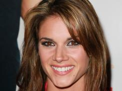 Actress Missy Peregrym, seen here attending an LA premiere in May, stars in 'Rookie Blue.'