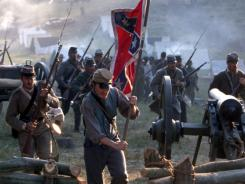 The cast and crew of 'Gods and Generals' bring the Battle of Chancellorsville, Va. to life.