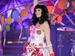Katy Perry is suffering from food poisoning and severe dehydration.