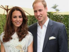 Prince William and Kate, the Duke and Duchess of Cambridge, are seen at The Foundation Polo Challenge at The Santa Barbara Polo & Racquet club on Saturday,