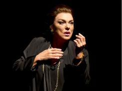 Tyne Daly portrays tempestuous Greek soprano Maria Callas, who died in 1977 at age 53.