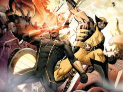 Cyclops and Wolverine find themselves in opposite sides in the Marvel Comics event series Schism.