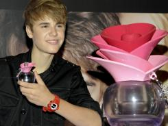 Bieber has a fragrance, Someday, that has become the highest-selling perfume in Macy's history.