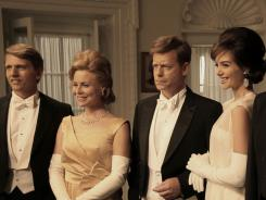 Didn't see that coming: The much-maligned 'Kennedys' minseries picked up 10 nominations, including acting berths for Greg Kinnear, center, and Barry Pepper, left.