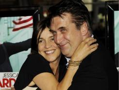 In happier times: Daniel Baldwin and his wife, Joanne, at the 'Grey Gardens' premiere in Los Angeles in 2009.