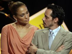 Jennifer Lopez and husband Marc Anthony announced Friday they are breaking up. The two married in 2004 and have 3-year-old twins.