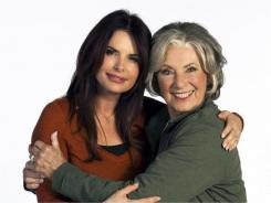 """Roma Downey, left, and Marion Ross star in  """"Keeping Up With The Randalls"""" on the Hallmark Channel Saturday."""