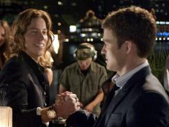 Not cool, bro:  Shaun White turns into a rage-aholic on Justin Timberlake in  Friends With Benefits , out Friday.