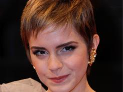 The 'Harry Potter' star said she will return to Brown University in 2012.