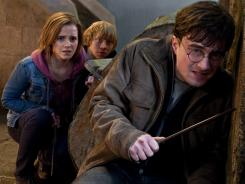'Harry Potter and the Deathly Hallows, Part 2,' starring  Emma Watson, Rupert Grint and Daniel Radcliffe, was No. 1 at the box office this weekend.