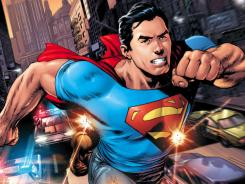 Jeans, T-shirt and a cape suit Superman just fine in 'Action Comics' No. 1,  written by Grant Morrison and illustrated by Rags Morales.