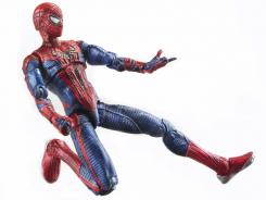 The first action figure from The Amazing Spider-Man toy line debuts Wednesday night at Comic-Con.
