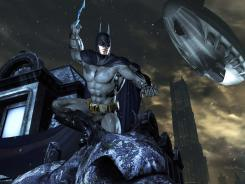 "The Caped Crusader  returns in  ""Batman: Arkham City.""  The game sequel also stars Catwoman, the  Penguin and the Riddler."