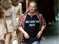 British deigner Alexander McQueen left most of his estate to his Sarabande charity.